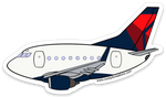 Mother D B-737 Sticker