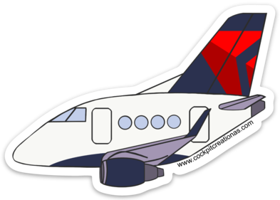 EMB-170 Mother D Sticker