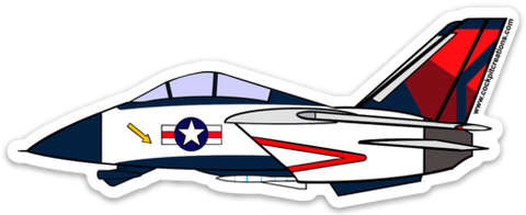Mother D F-14 Sticker