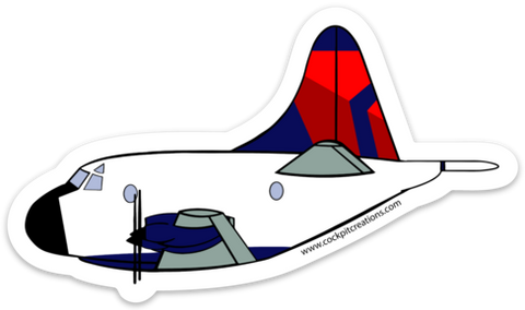 P-3 Orion Mother D Sticker