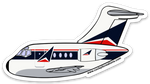 DC-9 Mother D Speed Widget Sticker