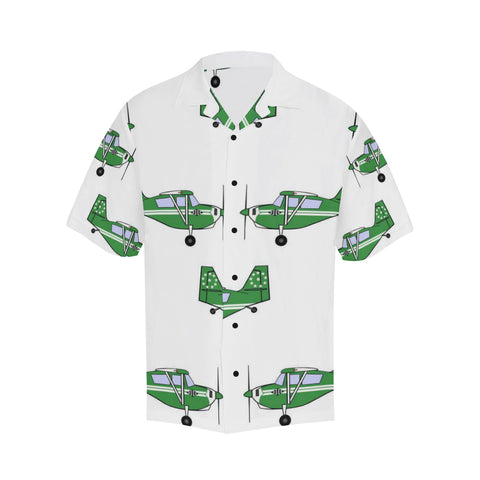 Citabria Green Hawaiian Shirt...SHIPPING INCLUDED!!!