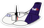 ATR FedEx Sticker