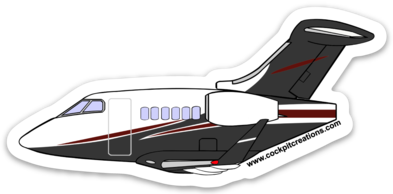 FlexJet Challenger 350 Sticker