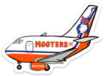 Hooters Air 737-300 Sticker