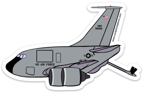 KC-135 Sticker