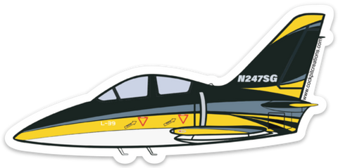 L-39 Tumbling Goose Sticker