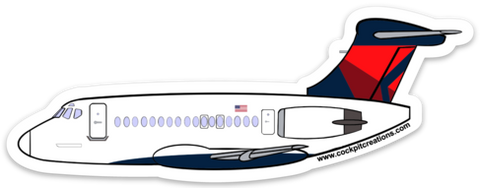 MD-88 Mother D Sticker-Large