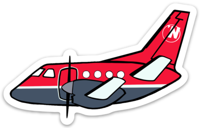 NW Airlink Saab 340 Sticker