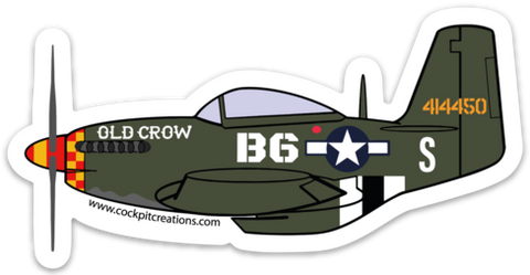 P-51 Old Crow Sticker