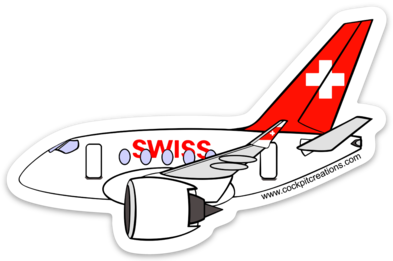 SWISS A 220 Sticker