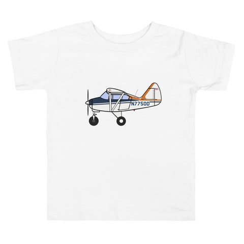 Piper Tri-pacer 50D Toddler Short Sleeve Tee