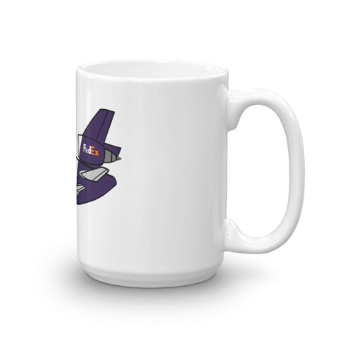 FedEx MD-10 Large Image Mug