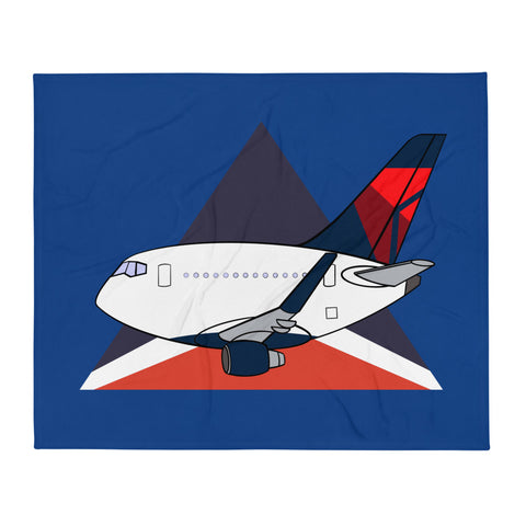 767 Mother D Widget Throw Blanket