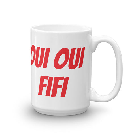 "Mother D A 320 ""OUI OUI FIFI"" Mug"