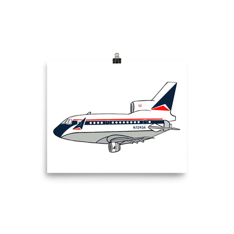Print of Mother D L-1011
