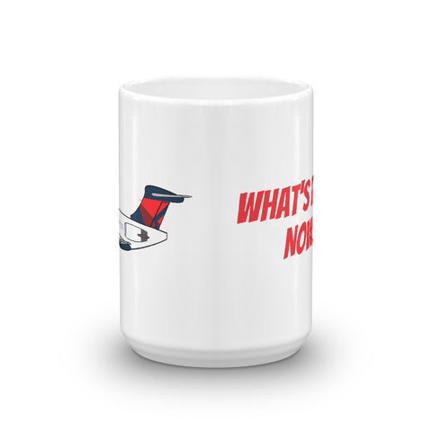 "Mother D Mad Dog ""WHAT'S IT DOING NOW"" Mug"