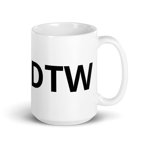 CRJ SkyWest DTW Base Mug