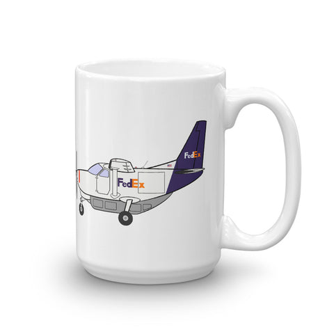 Cessna 208 Caravan Mountain Air Cargo Mug