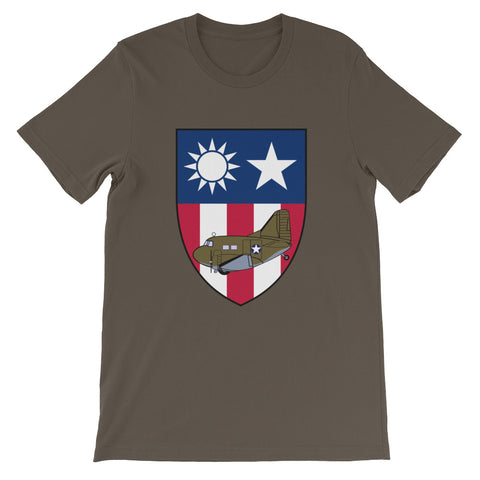 Burma Hump Flyer C-47 CBI T-shirt