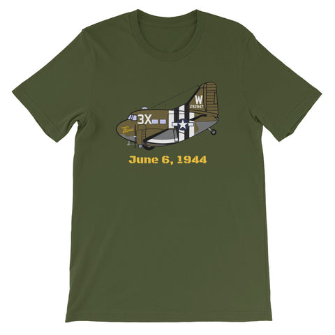 That's All Brother C-47 D-Day T-shirt Yellow