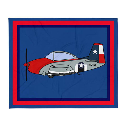 Navion N76E Throw Blanket
