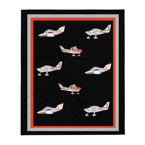 OSU Flying Aggies Throw Blanket