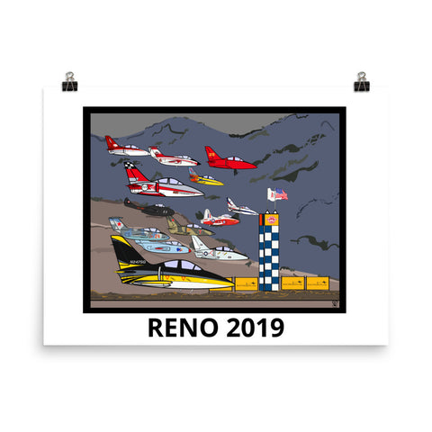 Reno Air Races Jet Class Finish 2019