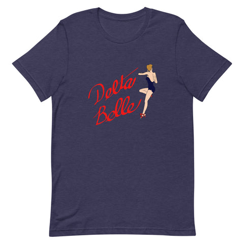 Delta Belle Nose Art T-Shirt