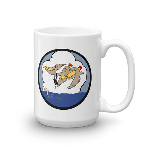 P-8 Poseidon with WW2 VP45 Squadron Image Mug