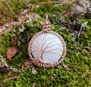 Tree of Life Pendant - Collaboration with Maid in the Woods