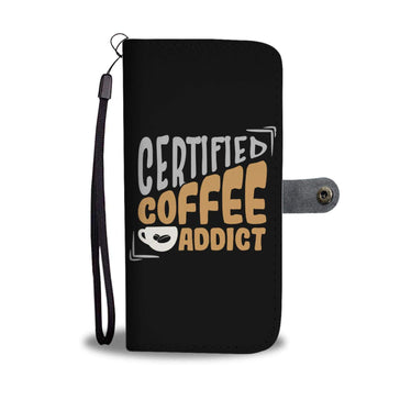 Coffee Addict Wallet Phone Case