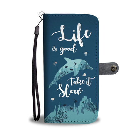 Dolphin Wallet Phone Case