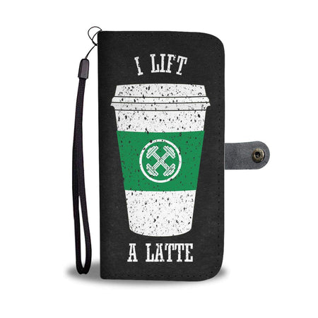 Lift Latte Wallet Phone Case