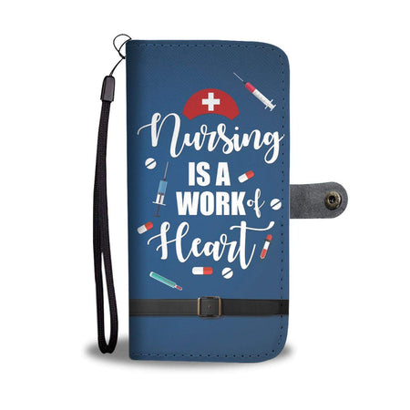 Nurse Life Wallet Phone Case