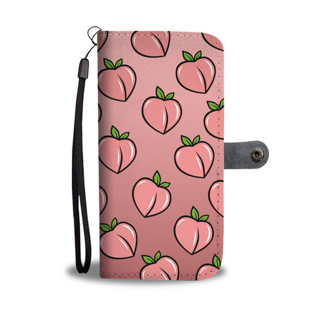 Peaches Wallet Phone Case
