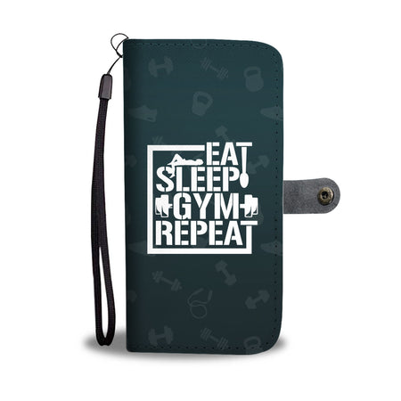 Gym Life Wallet Phone Case