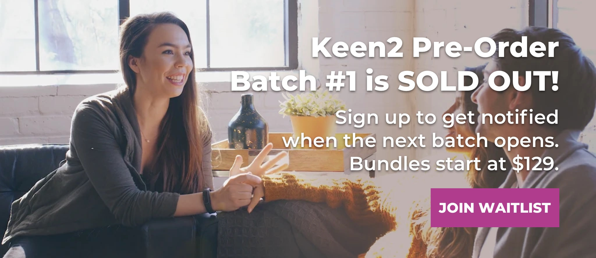 """HabitAware Keen2 is a """"Life Changing"""" Treatment for Trichotillomania. This batch is sold out. Sign up to get on the waitlist."""