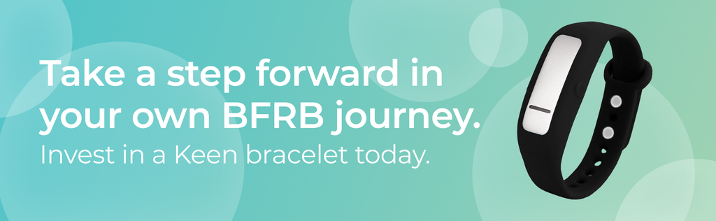Take a step forward in your own BFRB journey: invest in a Keen bracelet today.