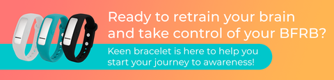 HabitAware Keen Smart Bracelet - Order Now to Stop Hair Pulling, Stop Skin Picking, Stop Nail Biting