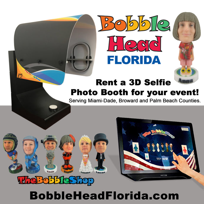 Rent a Bobble 3D Selfie Booth