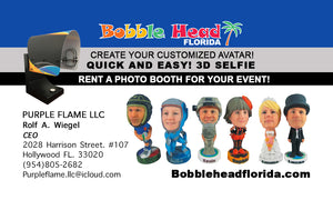 Rent BobbleHead Photo Booth