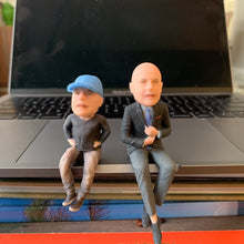BBHF customized Sitting Executive Figurine