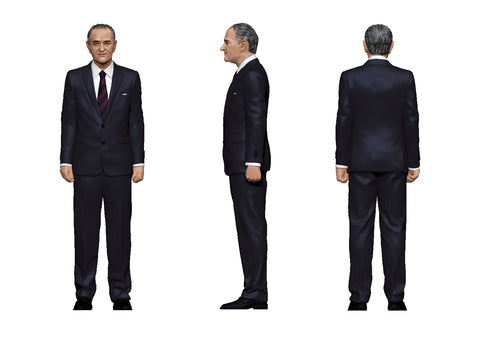 United States President Figurine: Lynden B. Johnson