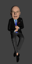 Customized Bobblehead Image for On-Line meeting and other backgrounds