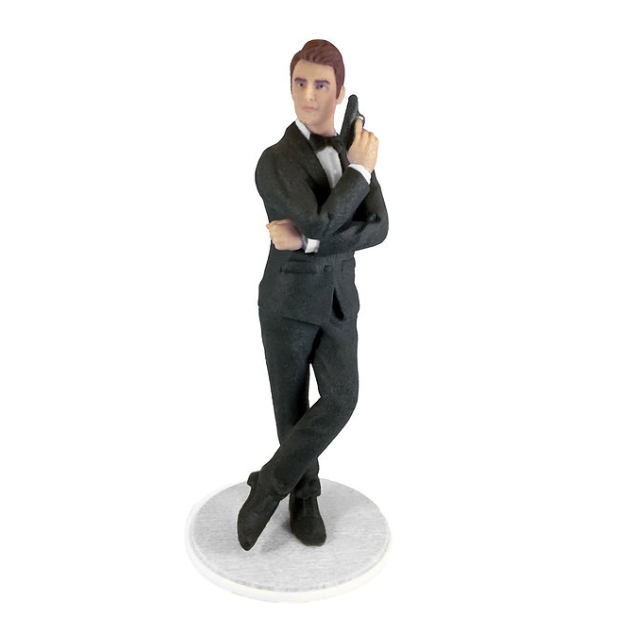 Secret Agent Man - PetitMe 3D-Selfie-Figurine