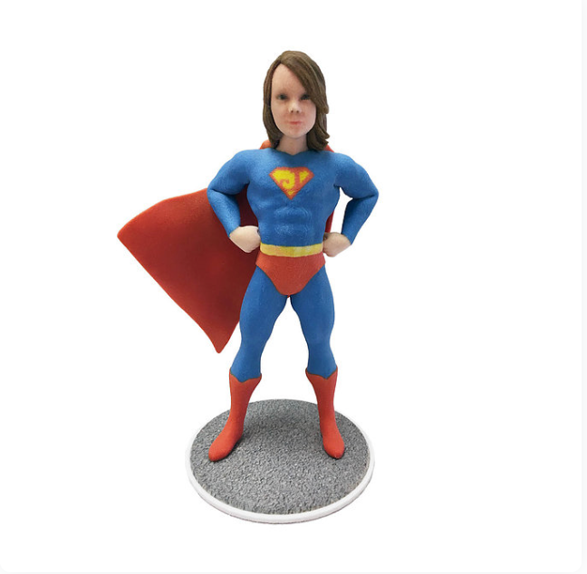 Super Hero Boy - PetitMe 3D-Selfie-Figurine