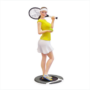 Tennis Player Woman - PetitMe 3D-Selfie-Figurine