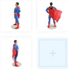 Superhero with Cape Man - PetitMe 3D-Selfie-Figurine