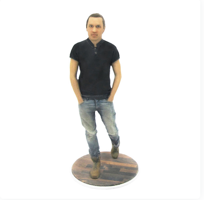 Casual Guy Man - PetitMe 3D-Selfie-Figurine